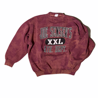 """JOE SENSER'S"" tie dye crewneck sweat / size XL"