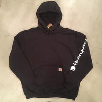 """New """"Carhartt"""" pullover hoodie / size L / color:black"""