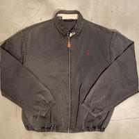 "Polo Ralph Lauren ""swing top jacket"" / size L / color:deep black / made in USA"