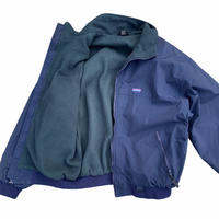 """WHITE SIERRA """"warm up jacket"""" / size XL / color:navy"""