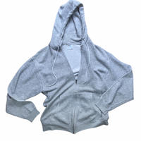 80s Hanes full zip up hoodie / size L / made in USA