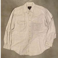 """""""Eddie Bauer"""" linen L/S shirt / size L"""
