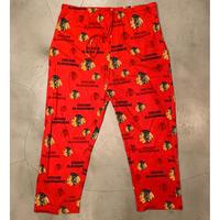 """""""CHICAGO BLACKHAWKS"""" pajama pants / size XL"""