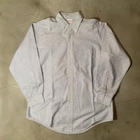 "Brooks Brothers ""stripe B.D L/S shirts"" / size 16-33(L) / made in USA"