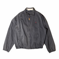 """Polo Ralph Lauren """"swing top jacket"""" / size L / color:deep black / made in USA"""