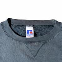 """Russell"" plain crewneck sweat / size M / color:玉虫色"