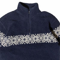 """""""GAP"""" Nordic half zip fleece jacket / size M"""
