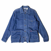 """BIG SMITH """"denim coverall """" / size M-L  / made in USA"""