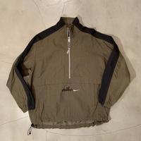 "NIKE ""pullover nylon jacket"" size L"