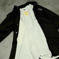 "DEAL STORE originals ""long coach jacket"" / color : black"