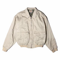 "80s BANANA REPUBLIC ""A-2 cotton jacket"" / size S"