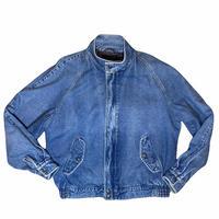"""Eddie Bauer """" ice wash denim jacket"""" / size M"""