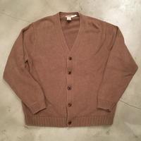 """""""L.L.Bean"""" cotton knit / size L / color:camel"""