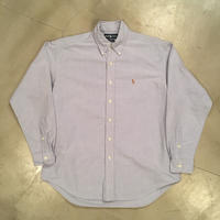 "Polo Ralph Lauren ""BRAKE"" B.D L/S shirts  / size M"