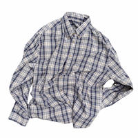"Puritan ""B.D check shirt"" / size XL"