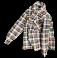 """J.C.Penny """"quilting flannel shirt"""" / size M / made in USA"""