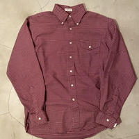 """L.L.bean """" B.D gingham check L/S shirts"""" / size 151/2(M) / made in USA"""
