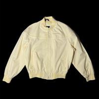 KNIGHTS BRIDGE cup shoulder jacket / size M / color:lemon yellow