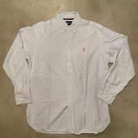 """Polo Ralph Lauren """"CLASSIC FIT"""" stripe B.D L/S shirts / size L"""