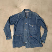 """BIG SMITH """"denim coverbals"""" /size M-L / made in USA"""