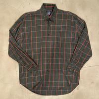 "GAP ""B.D check L/S shirt(light oz)"" / size L"