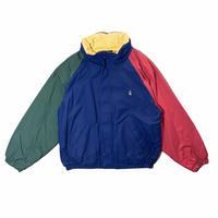"""Nautica"" w-face nylon jacket / size XL(フード収納型)"