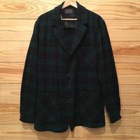 """50s """"PENDLETON"""" wool shirt jacket / size M"""
