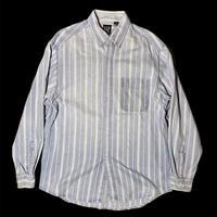 "GAP ""stripe denim shirt"" / size L"