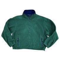 """Eddie Bauer """"EBTEK fleece jacket"""" / size L /color:green"""