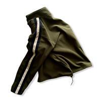 """""""OLD NAVY"""" half zip fleece jacket / size L / color:olive"""