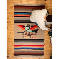 """Mexican rug """"cancun"""" / size 2020mm x 1140mm"""