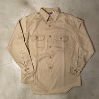 "BIG MAC ""work L/S shirts"" / size 16-161/2(L) / made in USA"