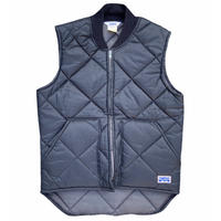 """BIG SMITH """"quilting vest"""" / size S / color:black / made in USA"""
