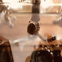 vintage  stone ring #ER024