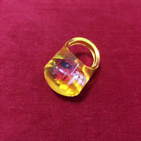 vintage dried flower ring #NR007