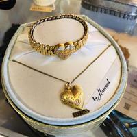 sweet heart bracelet & necklace #Z8