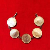 vintage coin bracelet #LB58