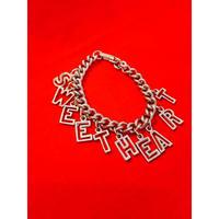 vintage sweet heart bracelet