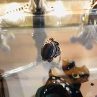 vintage stone ring #ER022