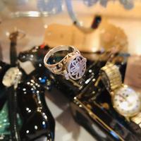 vintage poison ring #R/39