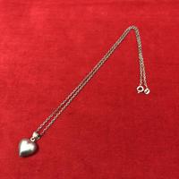 vintage silver necklace #TN009