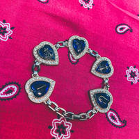 vintage sweet heart bracelet J/8