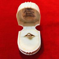 vintage pearl ring #LR4