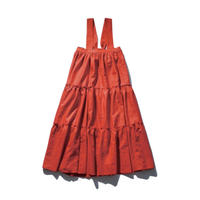float salopette skirt / poppy