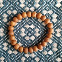 屋久杉ブレスレット 8㎜玉×24珠 天然木 数珠 屋久島産