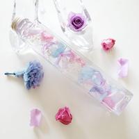 """《名入れギフト☆メッセージ刻印》Herbarium """"Secret roses""""(antique) バラの花びらの贅沢なハーバリウム"""