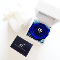 """LUXURY BOX """"Blessing of the God"""" ダイヤモンドローズの贅沢なフラワーボックス☆リングピローにも☆"""