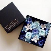 """JEWELY BOX """"crystal"""" お花をたっぷり詰め込んだサプライズフラワーボックス"""