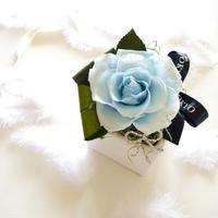 """BIRTHDAY JEWELY  """"Diamond"""" 4月の誕生石【ダイヤモンド】をイメージしたバースデーフラワー"""
