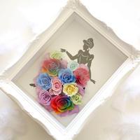 """《名入れギフト☆メッセージ刻印》LUXURY BOX  """"Rainbow dress"""" シンデレラを彩るレインボードレス"""